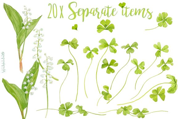 Delicate&Playful-for wedding suites in Illustrations - product preview 3