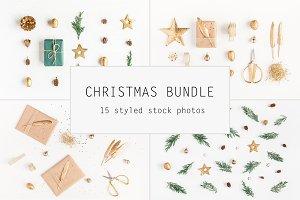 Christmas golden bundle