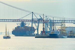 Lisbon Industrial port, Portugal