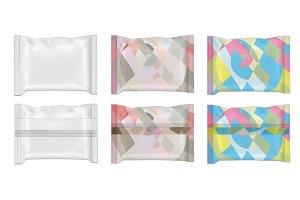 Color food snack pack