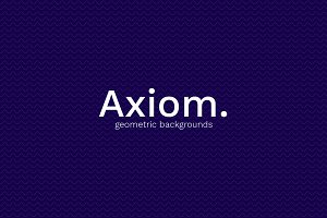 Axiom: Geometric Backgrounds