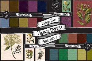Vintage Canvas Paper Textures 3