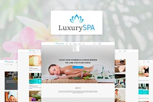 Luxury Spa - Beauty Shop Template