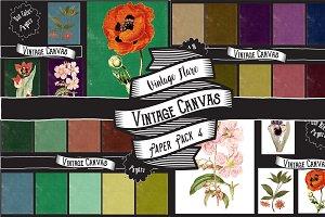 Vintage Canvas Paper Textures 4