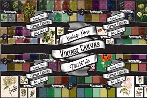 Vintage Canvas Texture Collection