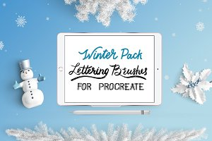 Procreate Brushes Winter Pack