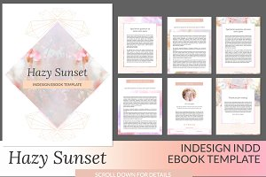 Hazy Sunset ID Ebook Template