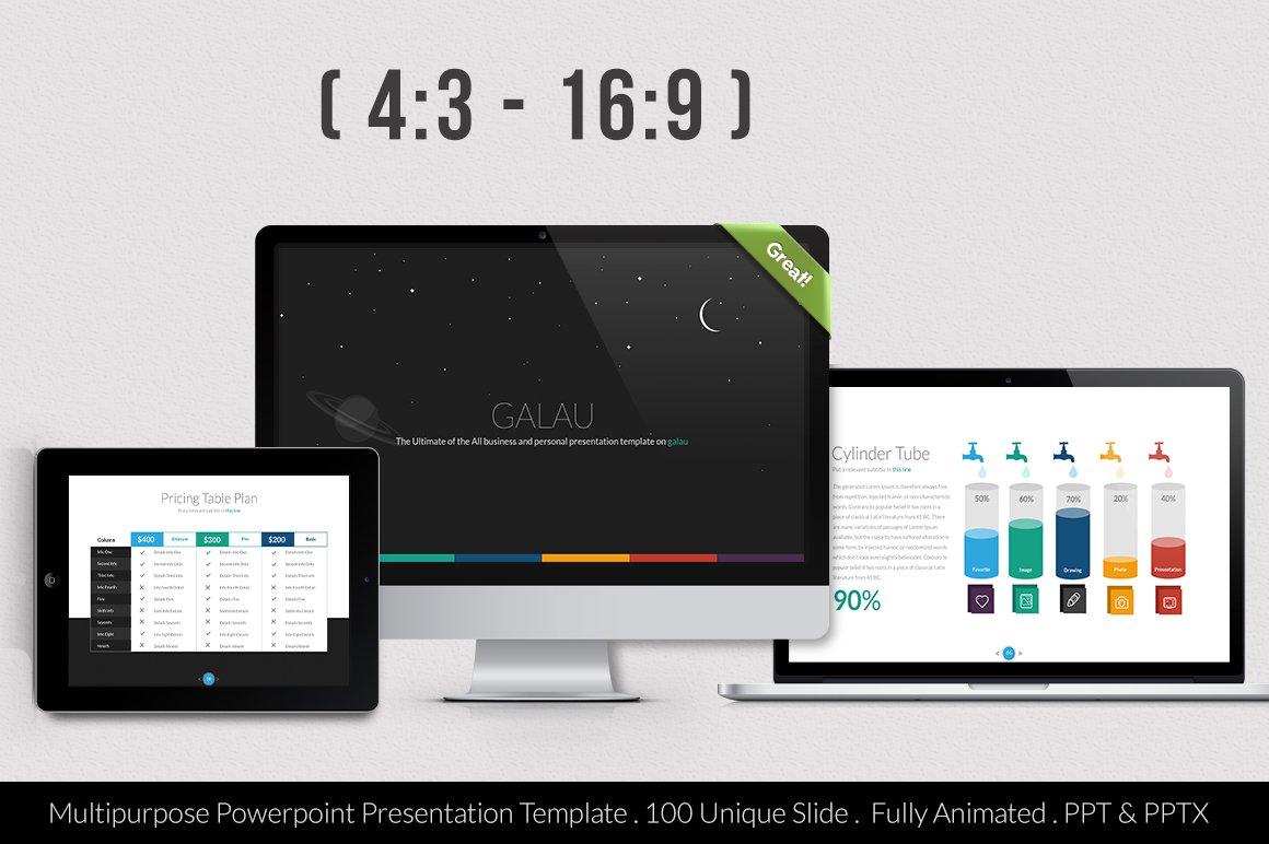 Galau powerpoint template presentation templates creative market toneelgroepblik Image collections
