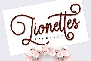 Lionettes Typeface
