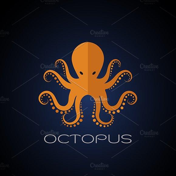 Vector Of An Octopus Design