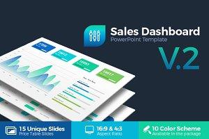 Sales Dashboard Powerpoint