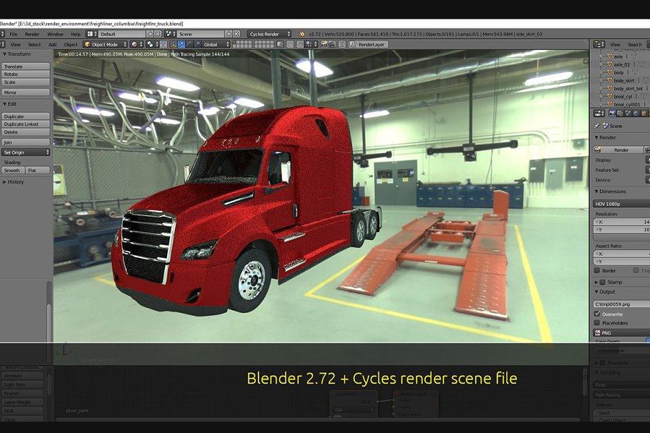 Freightliner Cascadia 2017semi truck