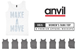 Anvil 882L Women's Lightweight Tank