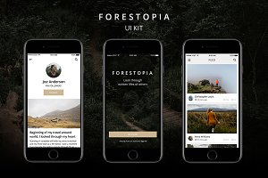 Forestopia UI Kit