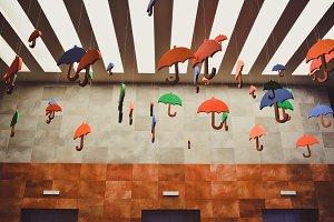 Autumn Decorations Umbrellas