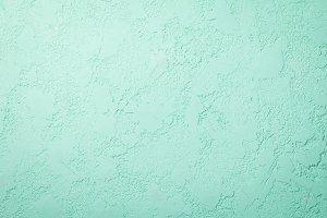 Concrete floor mint color background