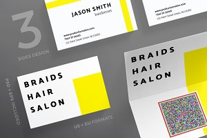 Business Cards | Braids Hair Salon