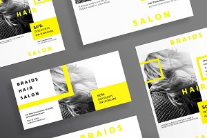 Flyers | Braids Hair Salon