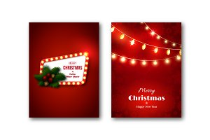 Christmas brochures templates
