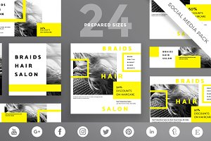Social Media Pack | Hair Salon