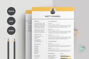 Resume/CV | Hummel
