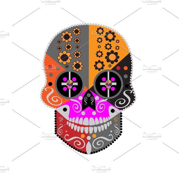Happy Halloween Skull