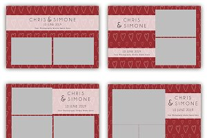 12 x Wedding Photo Booth Templates