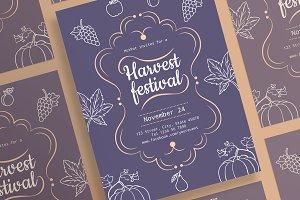 Posters | Harvest Festival