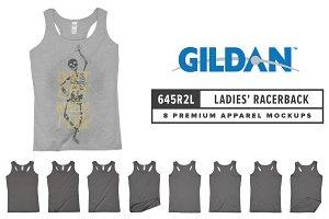 Gildan 645R2L Ladies' Racerback Tank