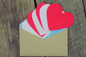 Sending hearts