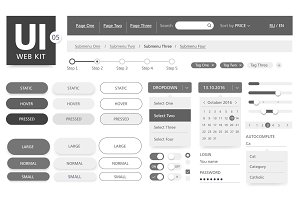 UI kit template