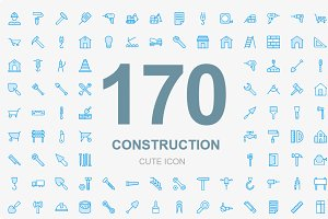 150+ Construction Cute icons