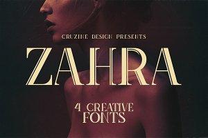 Zahra Typeface