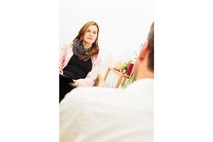 Man Seeing A Psychotherapist