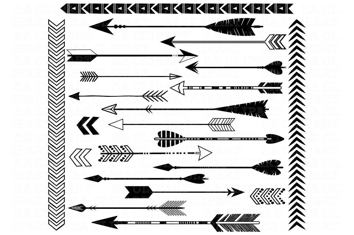 Black Arrows ClipArt ~ Illustrations ~ Creative Market