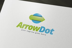 Arrow Dot Logo