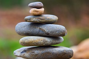 Balanced Rock Zen Stack