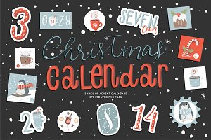 Cute christmas calendars