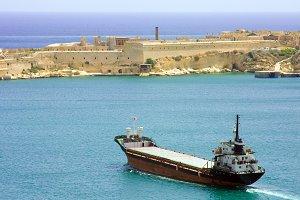 Oil Tanker on Mediterranean
