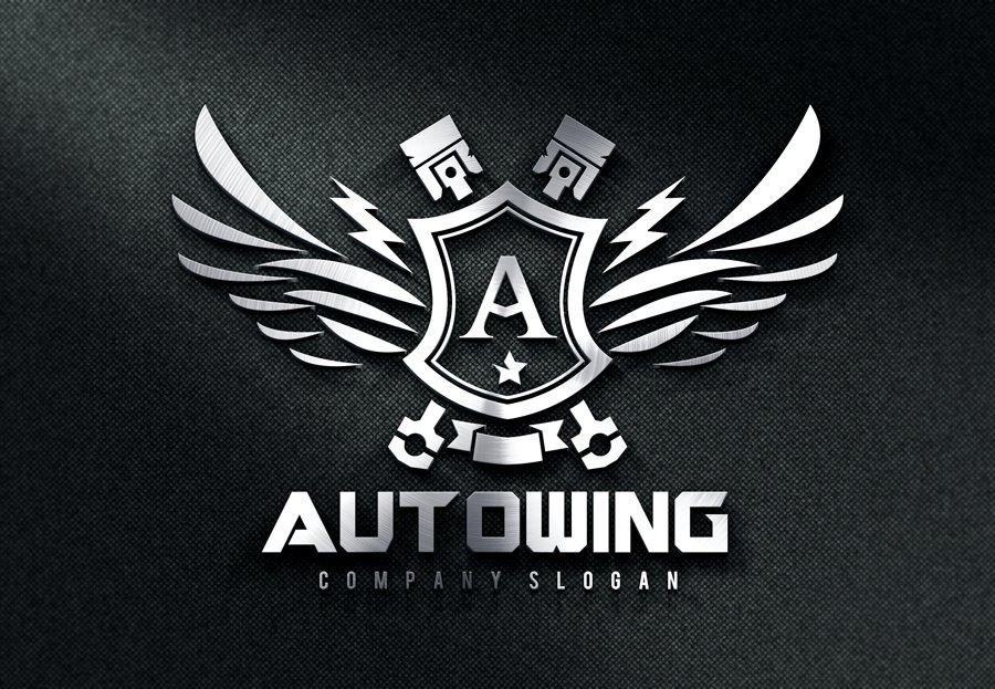 Auto Wing Logo Templates Creative Market