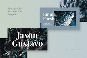 Discover Photography Business Card