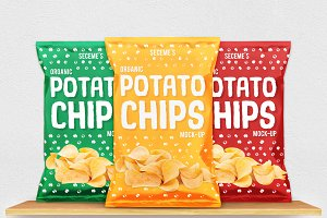 Chips Bag Mock-Up