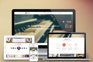 Prome - Onepage WordPress Theme