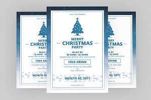 Christmas Party Flyer -V647