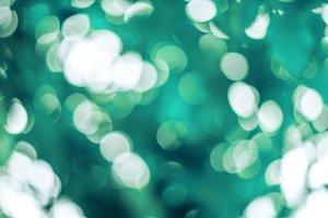 Beautiful blur background, bokeh on nature.
