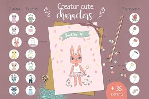 Creator cute characters