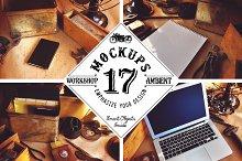 17 Mockups (Workshop Ambient)