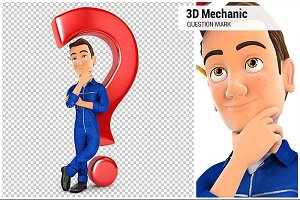 3D Mechanic Question Mark