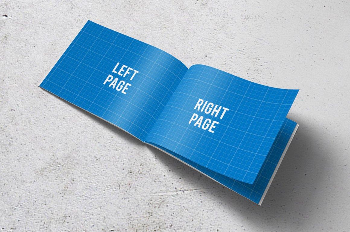 horizontal brochure design - a4 horizontal brochure mockups product mockups