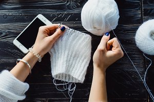 hands knit